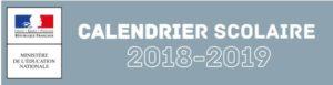 calendrier 2018-19